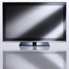 """РАСПРОДАЖА LED телевизор Hantarex 42"""" SLIM STRIPE black/ mir (чёрное стекло в чёрной хромированной рамке) - Демо-образец, в комплекте только пульт ДУ"""
