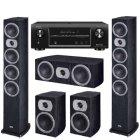 Heco Victa Prime 602 + 202 + 102 + Denon AVR-X1000 black