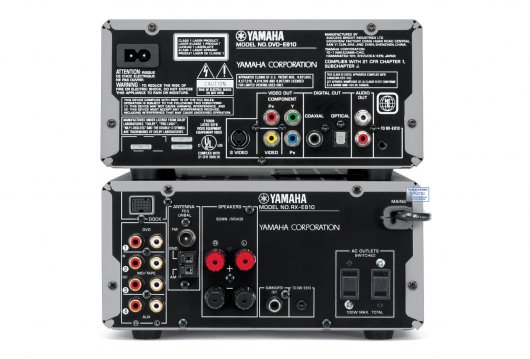 Музыкальный центр Yamaha Piano Craft MCR-E810 black